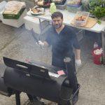 TAMERS® Catering 27.06.2015; Der Chef persönlich am Grill, Foto: Andreas Reichelt