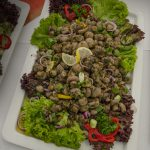 Tamers Catering 19.08.2016, Gegrillte Champignons Foto: Andreas Reichelt