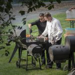 Tamers Catering 19.08.2016, Grillarbeiten, Foto: Andreas Reichelt