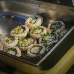 Tamers Catering 19.08.2016, Gegrillte, gefüllte Champignons, Foto: Andreas Reichelt