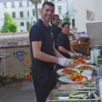 TAMERS® Catering für das Netzwerk für demokratische Kultur e.V. in Wurzen, 14. Juni 2014; Foto: Andreas Reichelt