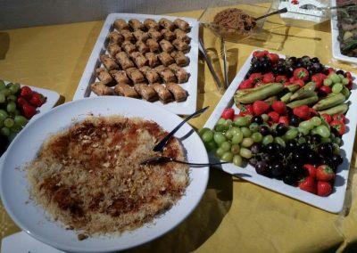 Dessert - Büffet Kadayif