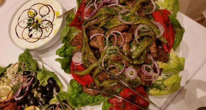 Tamers Catering Leipzig - Antipasti mit Tzaziki