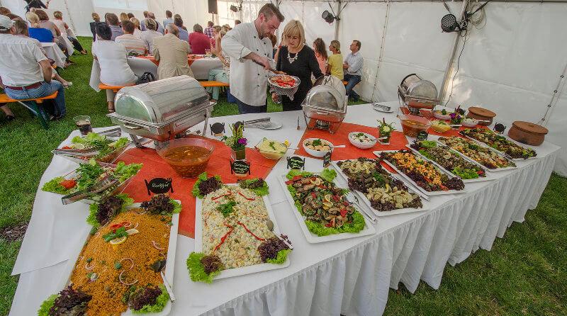 Tamers Catering Leipzig - Bueffet fuer Firmenveranstaltungen Tagungen Konferenzen Seminaren Hochzeiten
