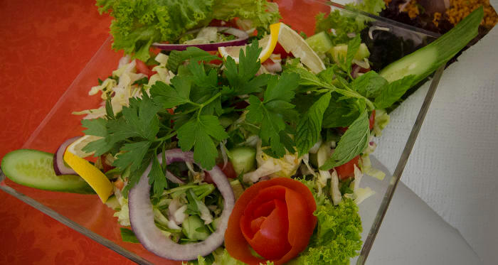 Tamers Catering Leipzig - Salat aus frischem Saisongemuese